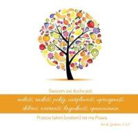 Podkładka - Owocem zaś Ducha są...