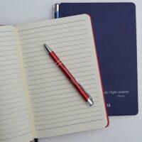 Notes A5 z miejscem na długopis